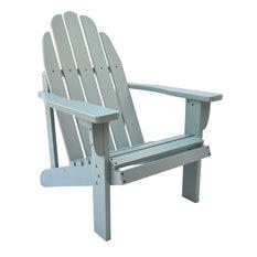 Catalina Adirondack Chair, Aqua, Dutch Blue