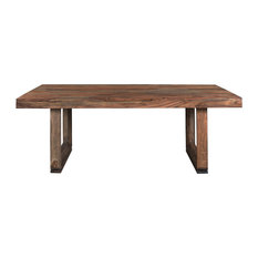 Brownstone Dining Table, Brownstone Nut Brown