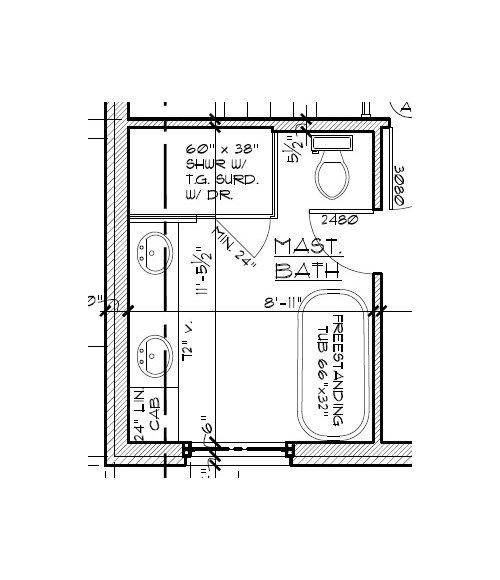 Bathroom Tile Wainscot Height