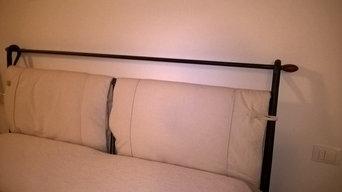 Relooking testata letto in ferro
