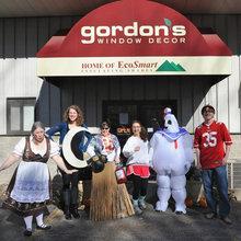 The Gordon's Window Decor Family!
