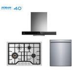 "Robam - Robam 3-Piece 30"" Range Hood, 30"" 4 Burner Natural Gas Range, and Dishwasher - The Robam 3-Piece 30"" Range Hood, 30"" 4 Burner Natural Gas Range, and Dishwasher includes the following:"