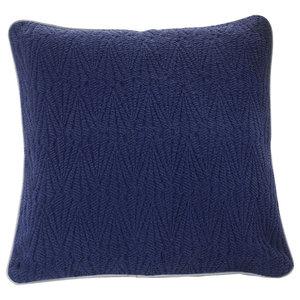 Southall Bedspread, Navy, Cushion 50x50 cm