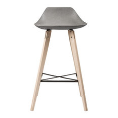 Hauteville Counter Chair Plywood Legs