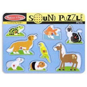 Zoo Animals Sound Puzzle - Contemporary - Kids Toys And Games - by