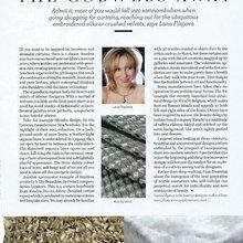 3D Textiles, the latest article by Svetlana Filippova for Cheshire Life
