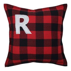 Buffalo Plaid R 17-inch Throw Pillow