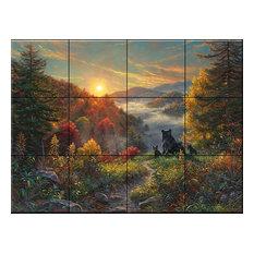 Tile Mural, New Day, Mk by Mark Keathly