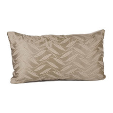 Gris Modern Kidney 90/10 Duck Insert Pillow With Cover, 12x22