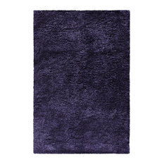Collection Hand Woven Shag Rug 6'x9' - navy blue