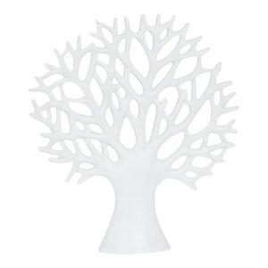Decorative White Jewellery Tree, Large