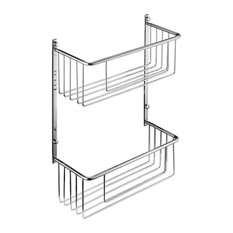 Adhesive Double Shower Caddy