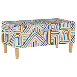 Midcentury Accent And Storage Benches by Skyline Furniture Mfg Inc