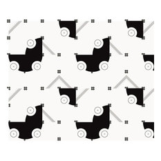 Carriage Wallpaper, 7 Panels