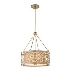 Arabesque Transitional 4-Light Chandelier