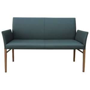 Bloom Anthracite Eco-Friendly Leather Sofa