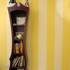 Clock Wall In Alice In Wonderland Nursery Eclectic