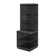 Altra Furniture   Hollow Core Audio Pier   Bookcases