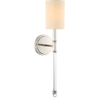 Fremont 1 Light Wall Sconce in Polished Nickel