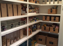 how do I do my pantry like this?