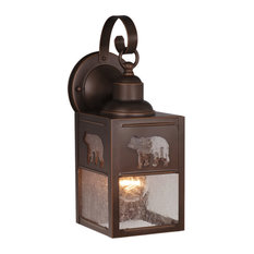 50 most popular rustic outdoor lights for 2018 houzz vaxcel bozeman 5 outdoor wall sconce burnished bronze outdoor wall lights and aloadofball Gallery