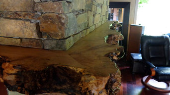 Natural Edge Mantels