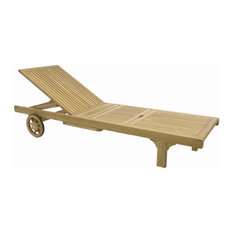 Somerset Chaise Lounger, No Cushion