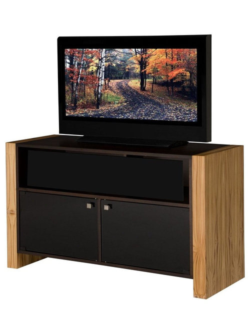 tv stand with teak wood sides centers and tv stands
