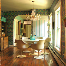 Eclectic  dining room - portland, maine - wary meyers decorative arts