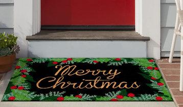 Wreath and Doormat Pairings