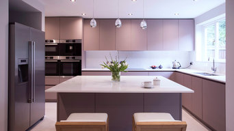 New kitchen at Silver Birch Close, Surrey