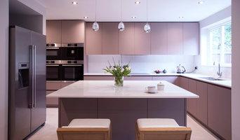 New kitchen at Silver Birch Close, Surrey