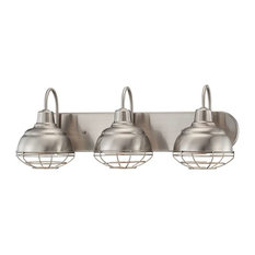 millennium lighting neo industrial vanity light satin nickel bathroom vanity lighting - Bathroom Vanity Lighting