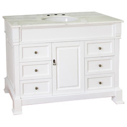 Traditional Bathroom Vanities And Sink Consoles by Bellaterra Home