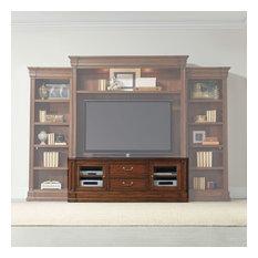 Hooker Furniture 5271-70456 72-1/2-inchW Poplar Wood Media Cabinet - Medium Wood