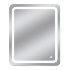 "Dyconn Faucet Egret Tri-Color LED Wall Mounted Bathroom Mirror, 30""w X 36""h"