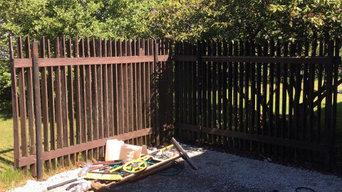 New sten & fencing