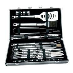 BergHOFF International Inc. - Cubo 33 Piece Bbq Set, Case - Grill Tools & Accessories