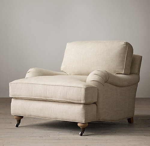 Affordable English Rolled Arm Chairs, English Roll Arm Chair Cover