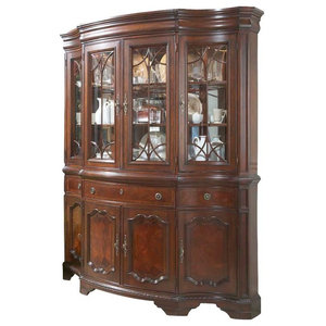 Remarkable Paula Deen Home 932680C China Buffet With Hutch Tobacco Home Remodeling Inspirations Cosmcuboardxyz