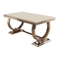 Arianna Marble Dining Table, Small