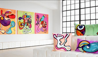 fur designs art mink pillows and paintings