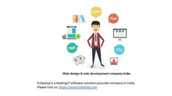 Web Design Company | Web Development Company India - Fullestop.com
