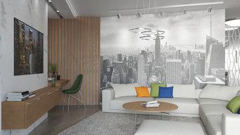 квартира 115м.кв. в современном стиле