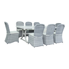 Cape Cod 9-Piece Outdoor Dining Set
