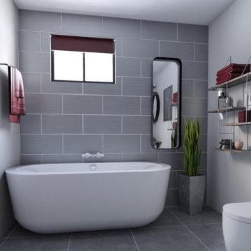 Bathroom Digital Design 1