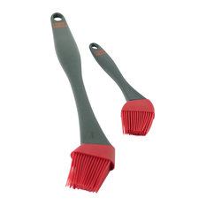 "Yukon Glory - 2 Piece, Silicone Bending Brush Set, 8.5"" & 15"" - Grill Tools & Accessories"