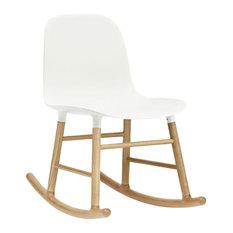 Normann Copenhagen   Normann Copenhagen Form Rocking Chair, White Oak   Rocking  Chairs