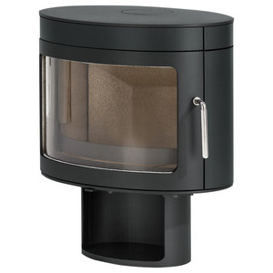 Panoramic FX2 Wood Burning Stove, Charcoal