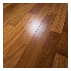 Brazilian Teak Prefinished Solid Wood Flooring, Sample
